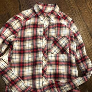 Abercrombie and Fitch XXS plaid shirt ❤️❤️